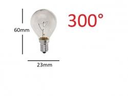 Ampoule four E14 25W 300°