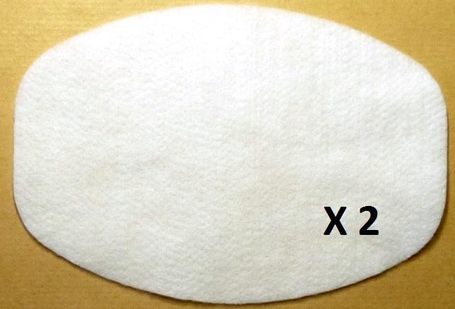 2 filtres aspirateur NILFISK GM 80