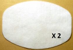 2 filtres aspirateur NILFISK GM 80 C