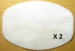 2 filtres aspirateur NILFISK GS 80