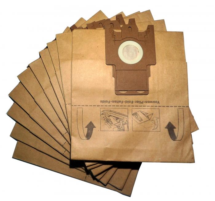 x10 sacs textile aspirateur miele fjm lot de 10 sacs microfibre haute filtration. Black Bedroom Furniture Sets. Home Design Ideas