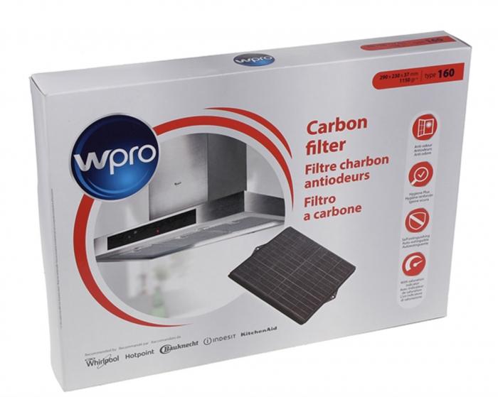 Filtre charbon TYPE 160 hotte SCHOLTES HE4390IX