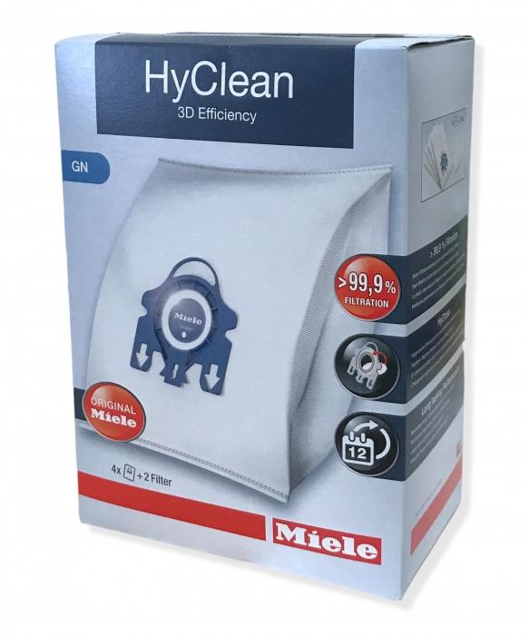 4 sacs hyclean GN 3D aspirateur MIELE S2 ECOLINE