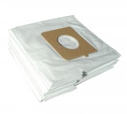 x10 sacs textile aspirateur MOULINEX MO152301 - COMPACTEO ROUGE 1800W - Microfibre