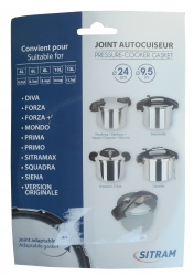 Joint couvercle pour cocotte SITRAM SITRAMAX 6L