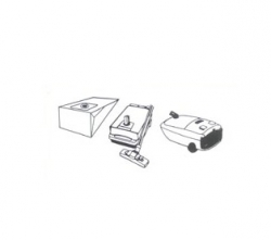 10 sacs aspirateur PARIS - RHONE A 100