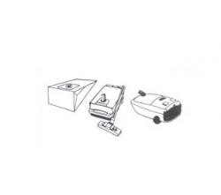 10 sacs aspirateur PARIS - RHONE A 107
