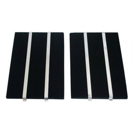 2 filtres charbon actif mousse hotte brandt shg58xf11. Black Bedroom Furniture Sets. Home Design Ideas