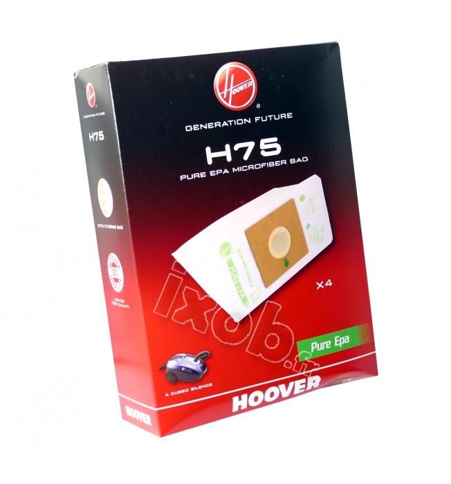 4 sacs aspirateur HOOVER A-CUBED - H75