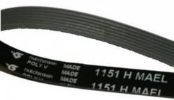 Courroie 7 dents - 1151H7MA - lave-linge BRANDT 802CV