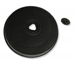 Filtre charbon actif 233mm hotte SMEG KE60X