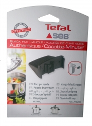 Poignée noire pour cocotte SEB AUTHENTIQUE ALU / INOX 12L