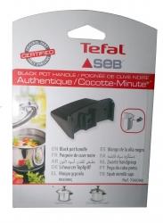 Poignée noire pour cocotte SEB AUTHENTIQUE INOX 4,5L AUTHENTIQUE INOX 6L - TYPE : J05