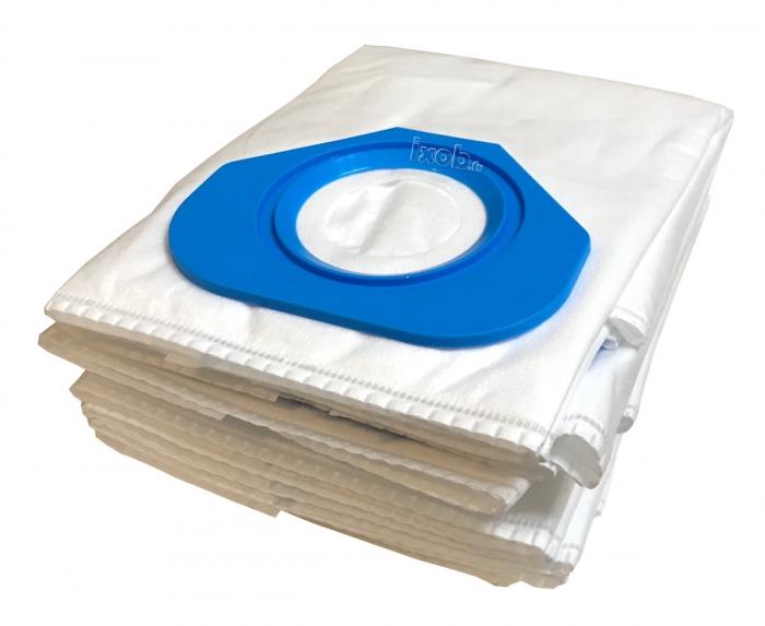 x10 sacs aspirateur textile NILFISK GM 80
