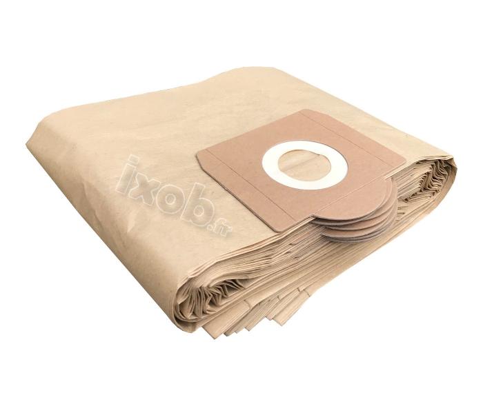 x10 sacs aspirateur SOTECO BASE 103