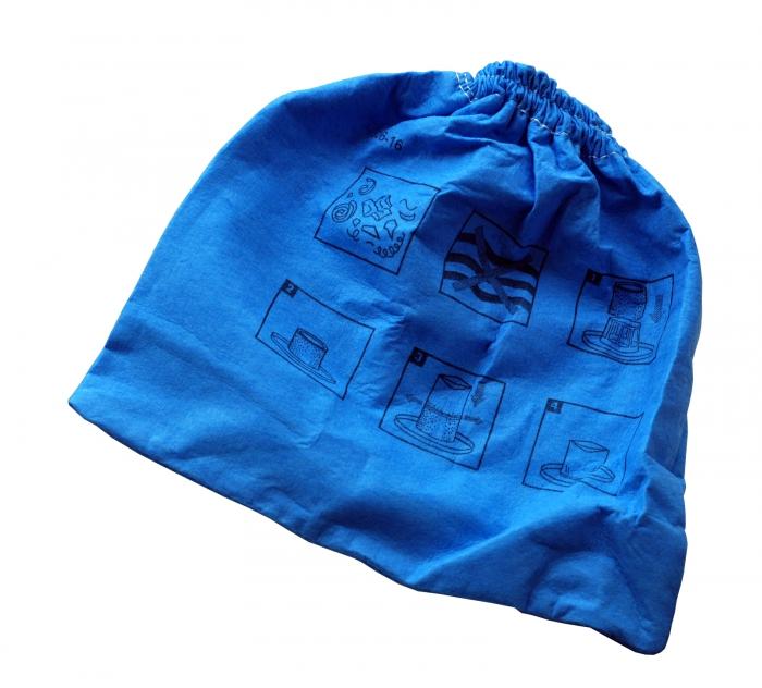 Pochette filtrante bleue aspirateur AQUAVAC NTS 20 BOXTER INOX