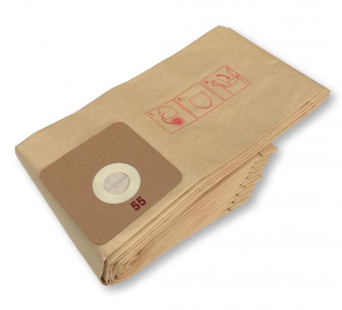 x10 sacs aspirateur SOTECO LEO