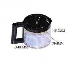 Verseuse en verre cafetiere DE LONGHI EXPRESSO COMBINE - BCO415