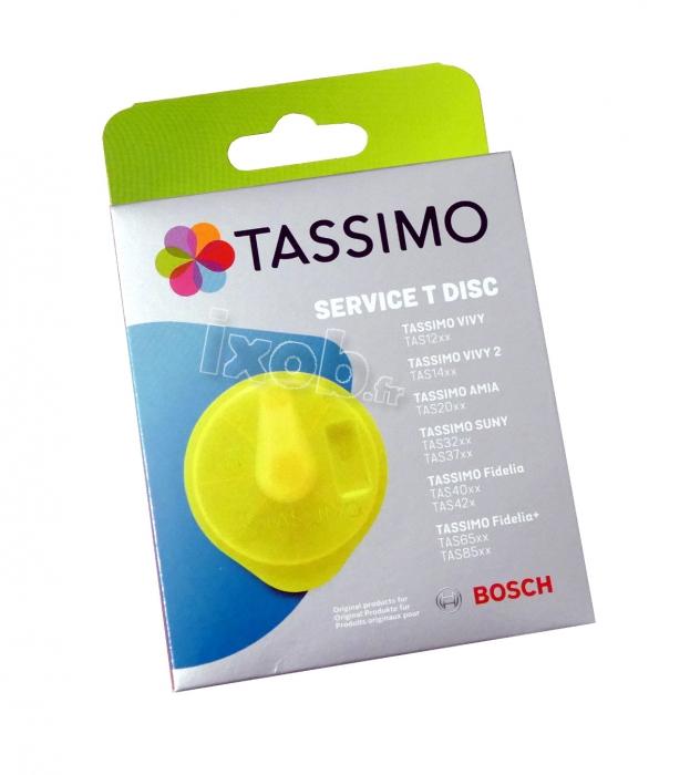 Disque de nettoyage T-DISC cafetiere BOSCH TASSIMO