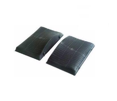 2 filtres charbon actif hotte WHIRLPOOL AKR967IX