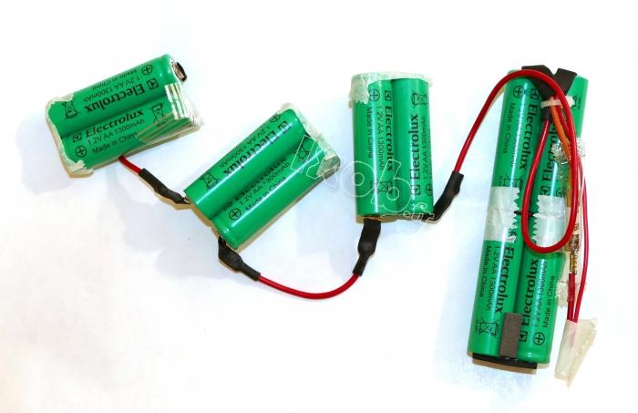 Batterie ensemble aspirateur balai electrolux zb2924 - Batterie pour aspirateur electrolux ...