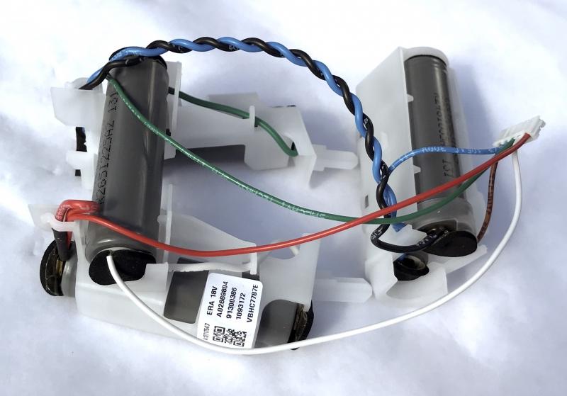 BATTERIE 18V LI ION aspirateur balai ELECTROLUX ERGORAPIDO
