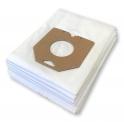 x10 sacs textile aspirateur PHILIPS HR 6340...HR 6580 - Microfibre
