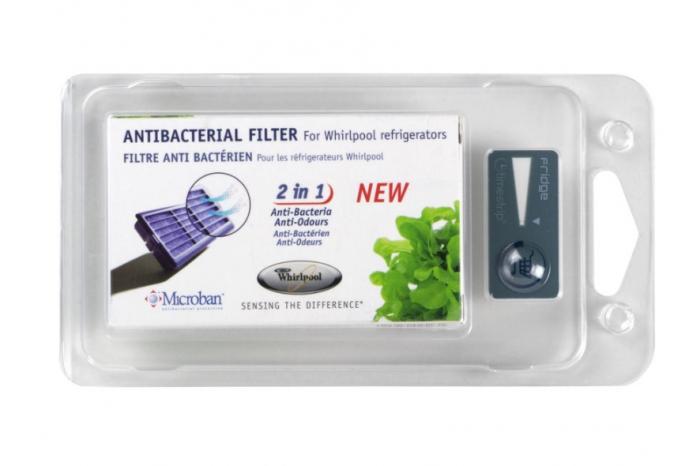 Filtre anti-bactérien refrigerateur WHIRLPOOL ANT001