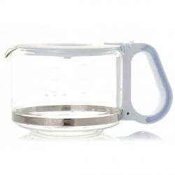 Verseuse blanche verre cafetiere PHILIPS HD7446