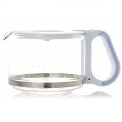Verseuse blanche verre cafetiere PHILIPS HD7449