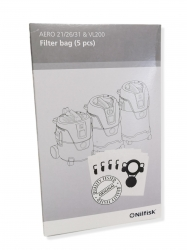 4x sacs originaux aspirateur NILFISK ALTO AERO 21-01 PC