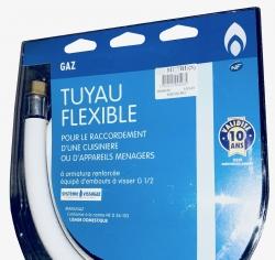 Tuyau Gaz Butane / Propane 2m - validité 10 ans