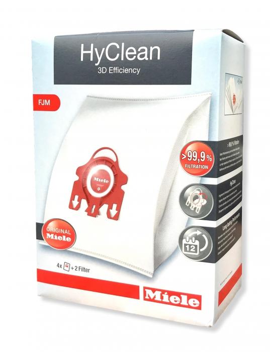 4 sac aspirateur hyclean fjm aspirateur miele compact c1 9153490. Black Bedroom Furniture Sets. Home Design Ideas