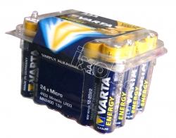 24 piles Alkaline LR03 AAA Varta ENERGY