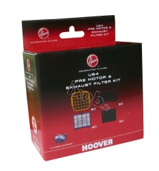 Kit 4 filtres aspirateur HOOVER A CUBED SILENCE - AC73_AC20