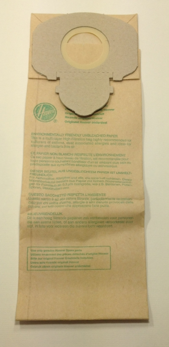 10 sacs aspirateur HOOVER ACENTA - S580E