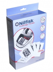4 sacs d'origine aspirateur NILFISK ELITE ECO