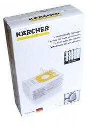5 sacs feutrine aspirateur KARCHER VC 6300
