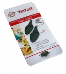2 coupelles ovale TEFAL 7809882 - GOURMET APARAAT/FONDUEPAN FROMAGE PARTY TYPE 827 SERIE