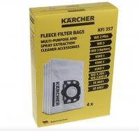 5 sacs originaux aspirateur KARCHER 2701 TE