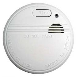 Détecteur de fumée NF et CE - Pile fournie