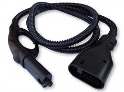 Flexible noir nettoyeur vapeur POLTI PTEU0053 - VAPORETTO 1030 R