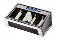 Chargeur de piles VARTA avec ecran LCD