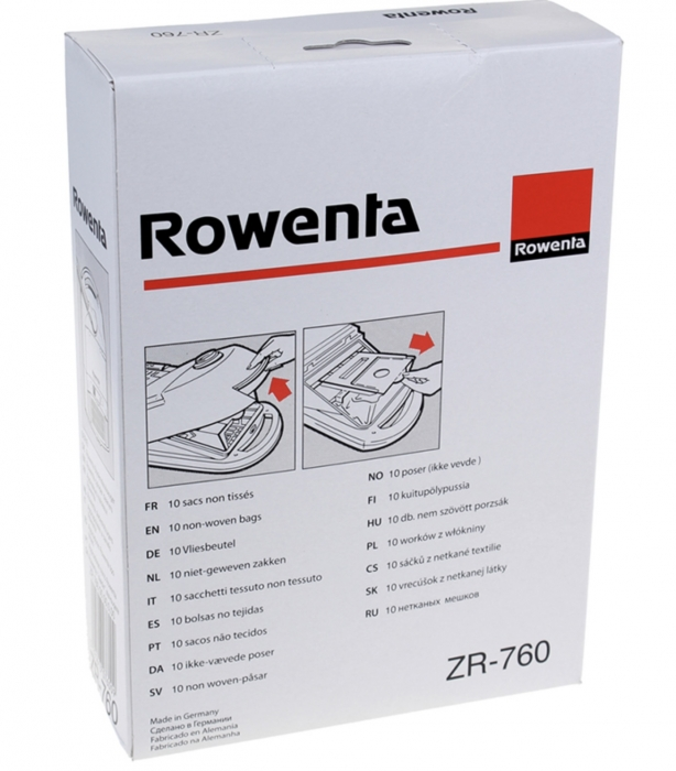sac aspirateur  rs rowenta