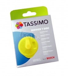 Disque de nettoyage T-DISC cafetiere BOSCH TASSIMO - TAS2001GB/02