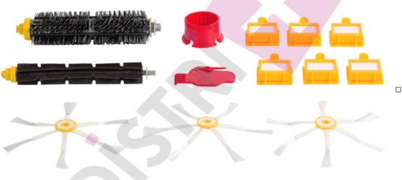 Kit filtres accessoire aspirateur robot IROBOT ROOMBA 772E