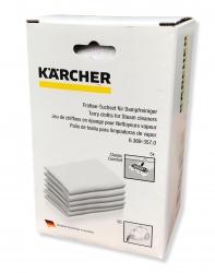 5 lingettes nettoyeur KARCHER SC 1 PREMIUM + FLOOR KIT