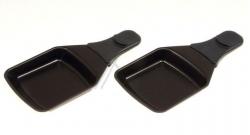 X2 coupelles carrées raclette TEFAL 781428211A - GRILL AMBIANCE SERIE 1A