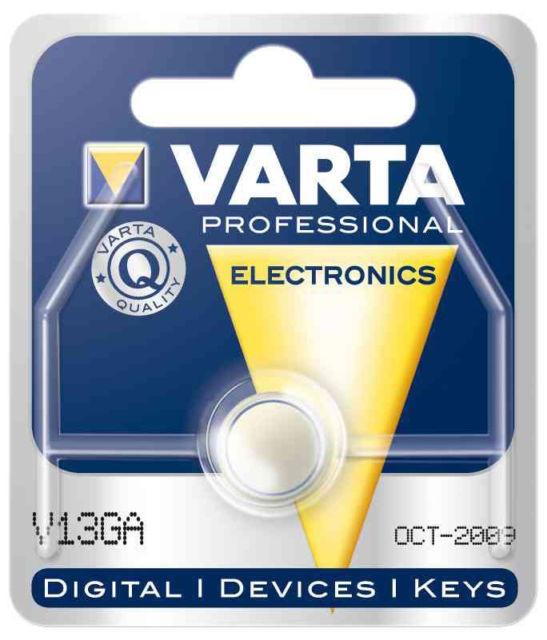 Pile 1.5V V13GA - LR44 - Varta