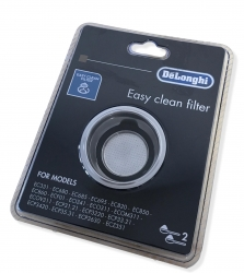 Porte filtre 2 tasses expresso DE LONGHI 0132104183 - ECP3321W